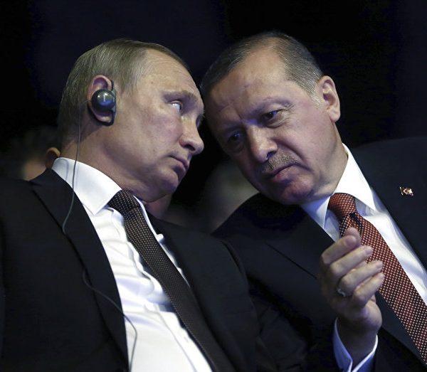 Putin Ərdoğanla görüşdə əsəbiləşdi – VİDEO