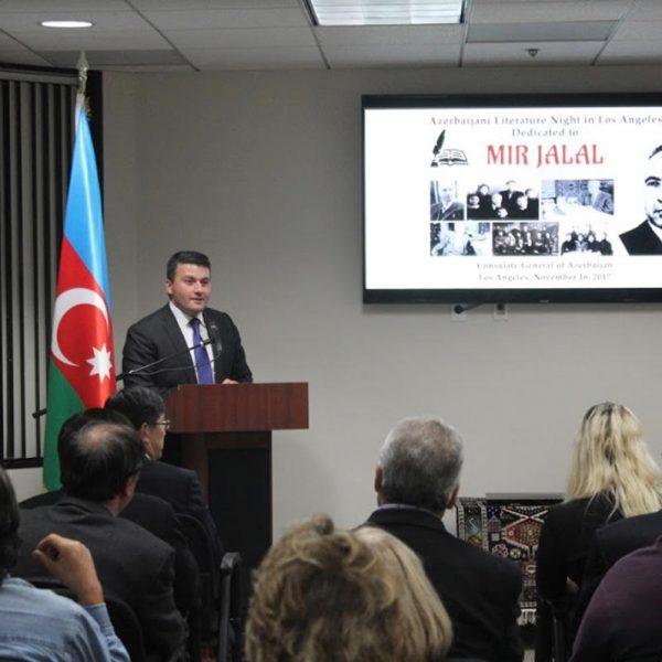 Mir Cəlal Paşayevin yaradıcılığı ABŞ-da təqdim olunub
