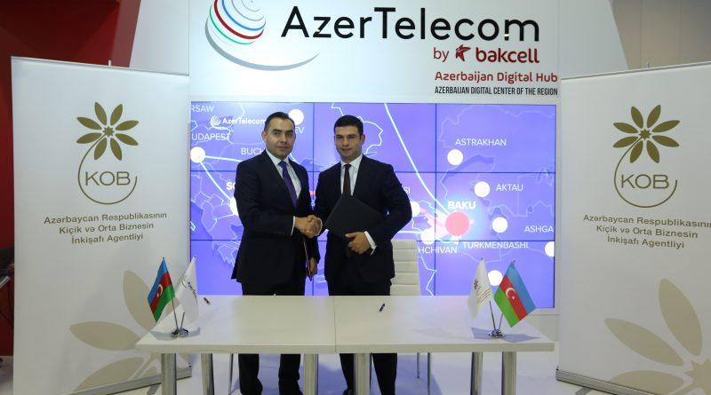 AzerTelecom və KOBİA əməkdaşlıq edəcək – FOTOLAR