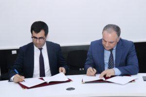 AzTU ilə  Sumqayıt Texnologiyalar Data Mərkəzi əməkdaşlıq müqaviləsi imzaladı - FOTOLAR