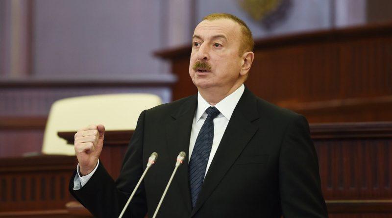 Prezidenti Milli Məclisin ilk iclasında çıxış edib – VİDEO