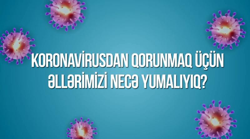 Koronavirusdan qorunmaq üçün çarxlar – VİDEO