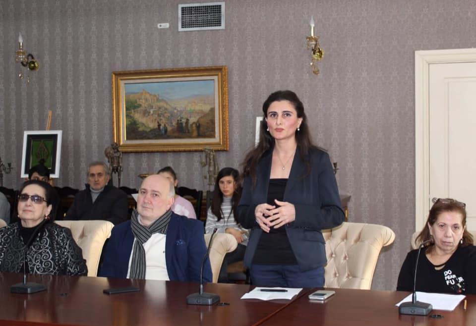"""""""Nərimanov biz azərbaycanlılar üçün örnək və qürür mənbəyidir!!!"""" - Aygül İsayeva"""