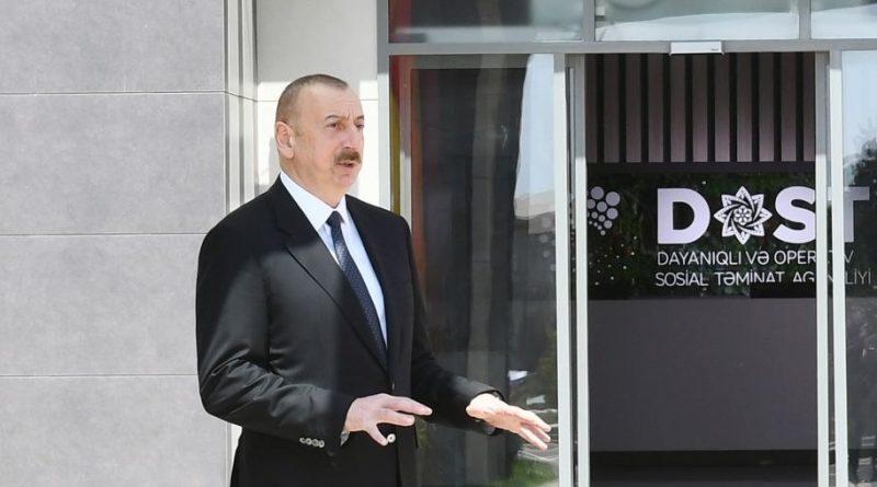 Prezident AzTV-yə müsahibə verib – VİDEO