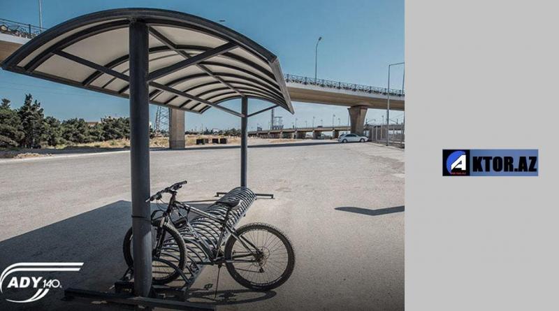 Dəmir yolu stansiyalarında velosiped dayanacaqları quraşdırılır