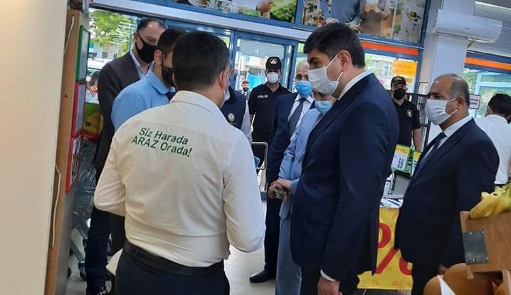Yasamal rayon İcra Hakimiyyətinin başçısı yerli mağazalarda baxış keçirib – FOTOLAR