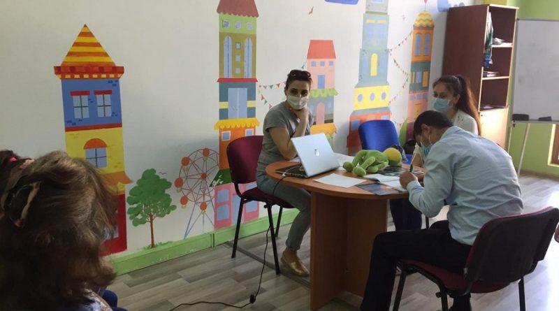 Pandemiya dövründə Bakı və Quba uşaq hüquqları klinikalarının fəaliyyəti davam edir – FOTOLAR