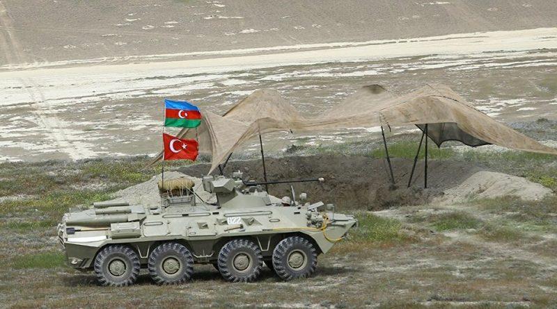 Первый этап азербайджано-турецких совместных учений – ВИДЕО