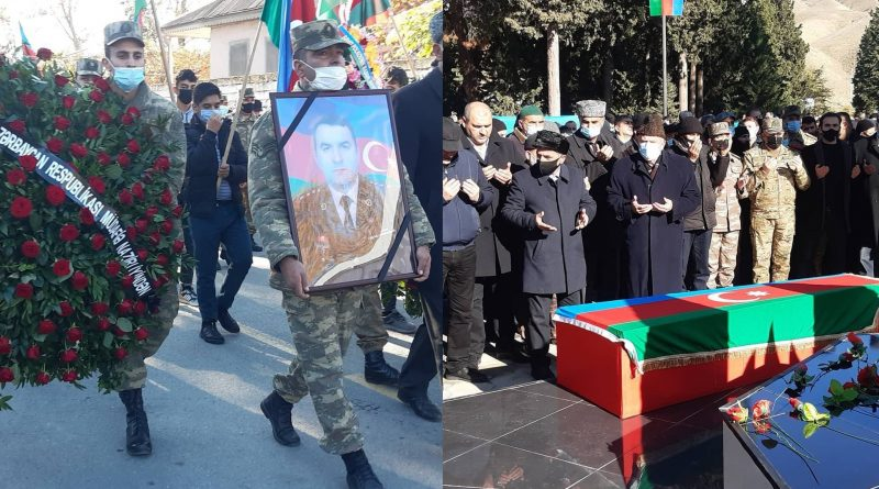 Şəhid polkovnik Babək Səmidli dəfn olunub – FOTO
