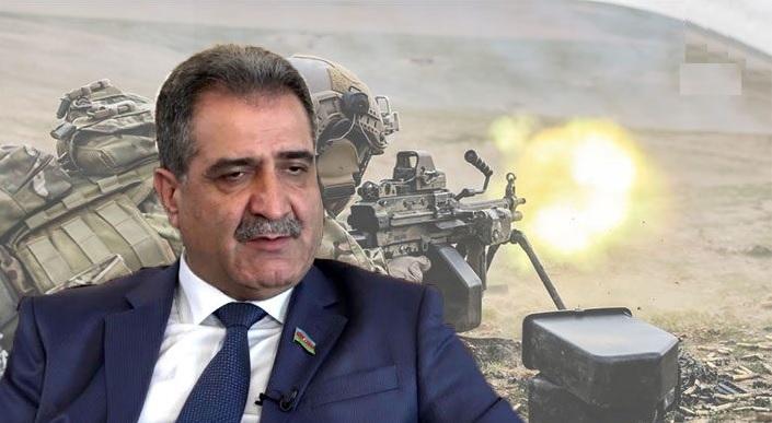 """Fərəc Quliyev:""""Qənimətlər Parkına dil uzadanlar erməni vəhşiliyini görsün"""" – VİDEO"""