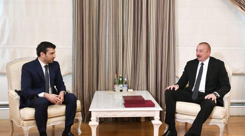 Prezident Selçuk Bayraktarı təltif etdi — FOTOLAR