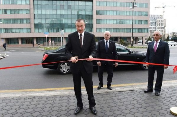 Prezident açılış etdi – FOTO