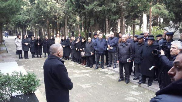 Zəlimxan Yaquba həsr olunan anım mərasimi keçirilib – FOTOLAR
