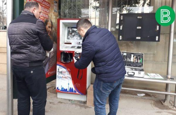 """Bakıda """"MilliÖn"""" aparatı yarıldı – FOTO/ VİDEO"""