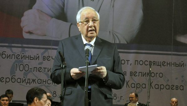 Bişkekdə Qara Qarayevin 100 illiyi yubileyi təntənəli qeyd olunub – FOTOLAR