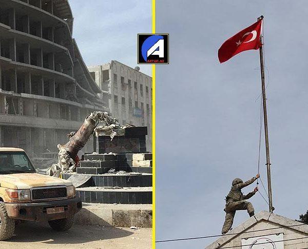 Türk ordusu Afrini fəth etdi – VİDEO