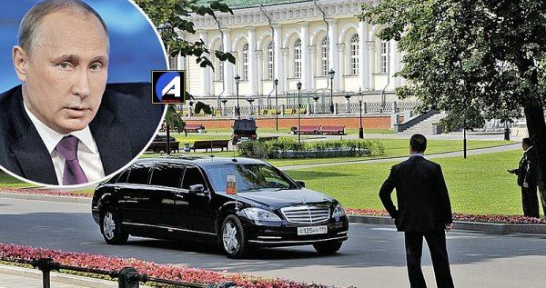 В РФ за 8,5 млн продают Mercedes Путина – ФОТО