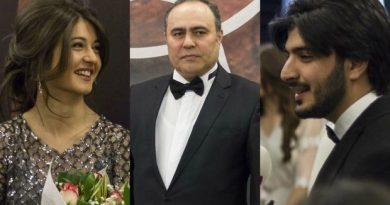 Xalq artisti övladları ilə film çəkdi – FOTO/VİDEO