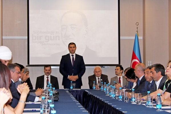 """""""AXC: Türk ölkələrinin dövlət quruculuğu tarixində müasir model"""" adlı konrans keçirildi -FOTOLAR"""