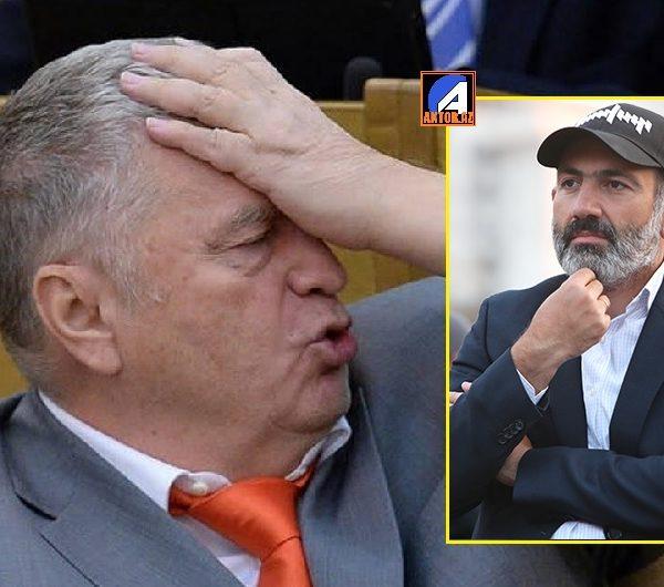 """Jirinovski:""""Ermənilər Paşinyana görə peşman olacaq"""" – VİDEO"""