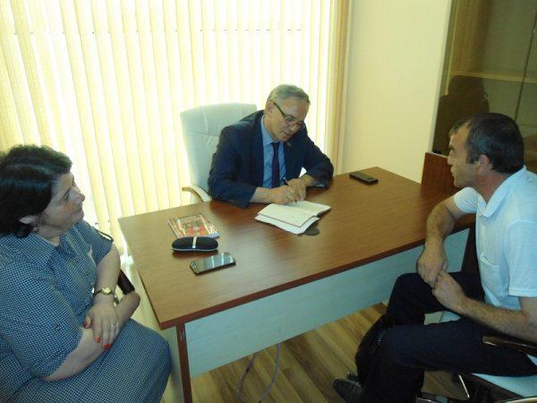 Əflatun Amaşov seçiciləri ilə görüşdü – FOTOLAR