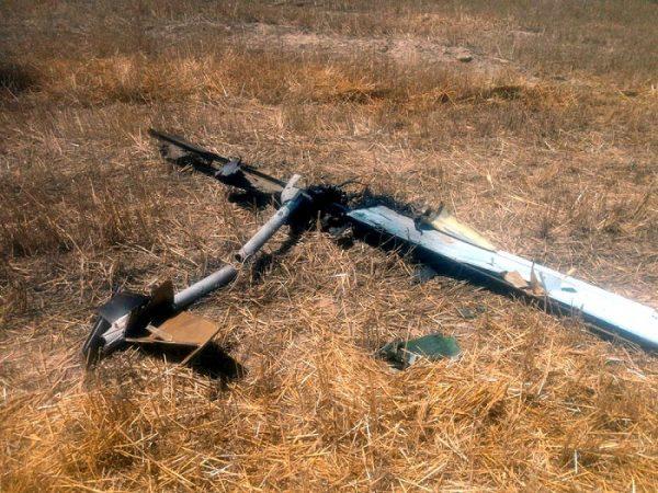 Сбит вражеский беспилотник – ФОТО