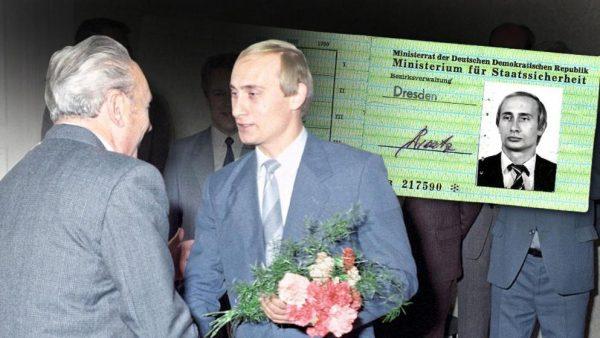 В архивах найдено удостоверение агента Штази Путина – ФОТО