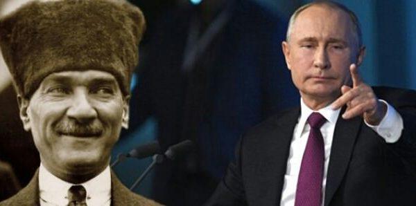 """Путин:""""Ататюрк был большим другом России"""" – ВИДЕО"""