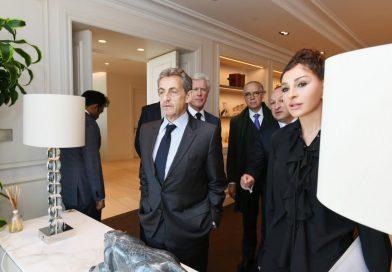 Birinci vitse-prezident Sarkozi ilə görüşüb – FOTO
