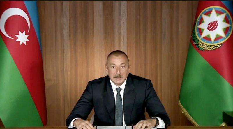 İlham Əliyev BMT Baş Assambleyasının 75-ci sessiyasında çıxış edib – VİDEO